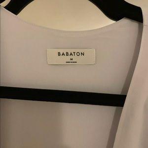 Aritzia Dresses - Aritzia Babaton Slit Wrap Dress